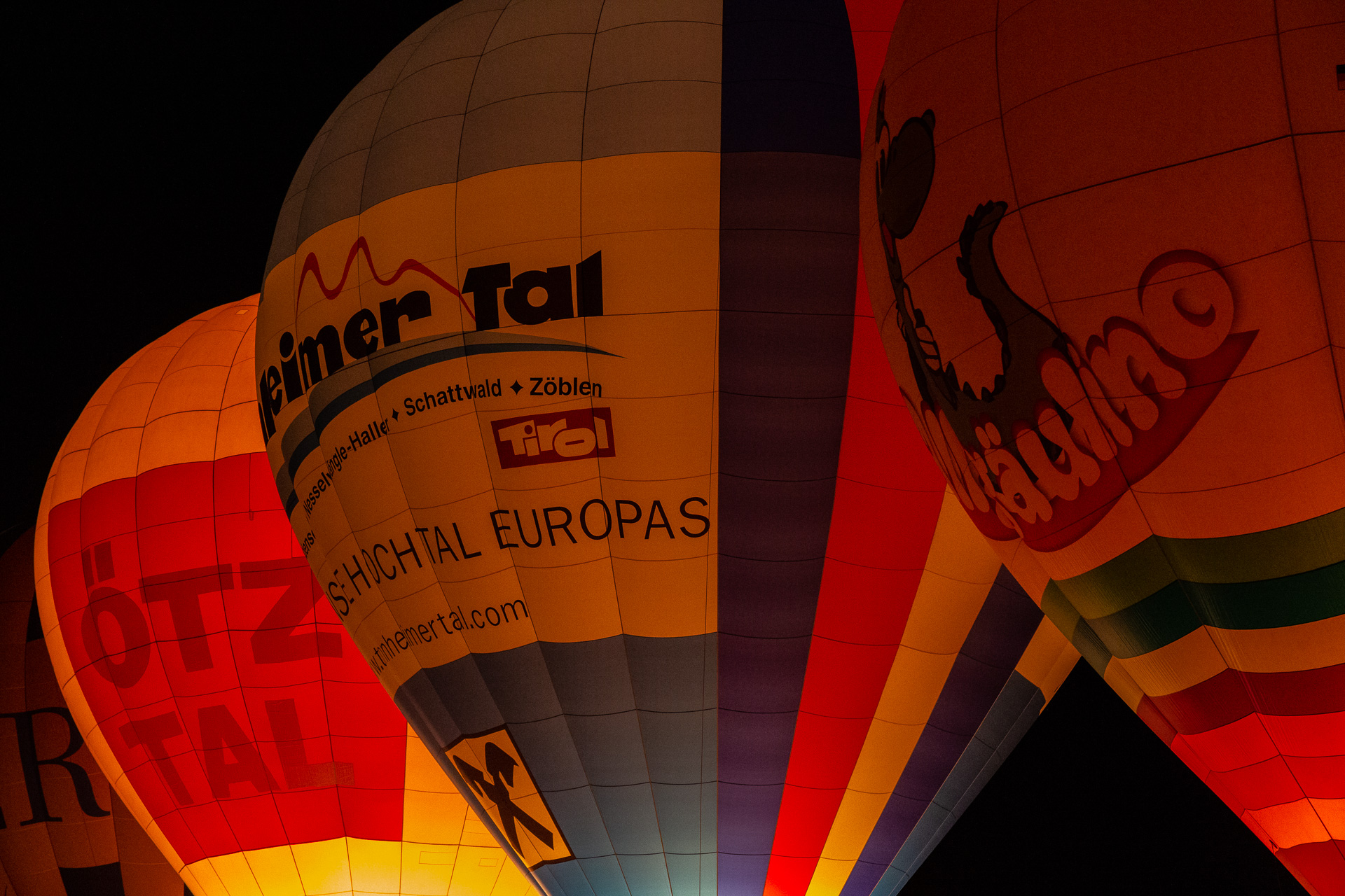 Ballonglühen in Jungholz